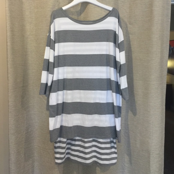 f37292ffcbf21 Garnet Hill Dresses & Skirts - 😍sale today! Garnet Hill layered knit dress