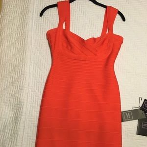 Like new Herve Leger dress small
