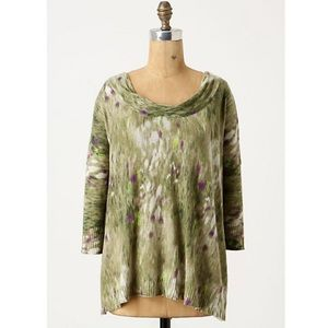 Anthropologie Tops - Anthropologie Water Lily Top