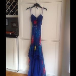 Sue Wong long beaded dress