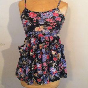 BDG mini dress/flowy top with pockets