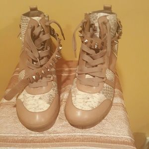 Sam Edelman Shoes - Wedge sneakers with minor scuffs