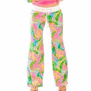 Lilly Pulitzer Beach Pant in Multi So A Peeling