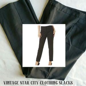 Vintage STAR CITY CLOTHING ✂️ Gray Dress Slacks