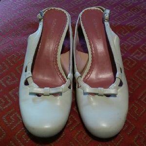 Highlights Shoes - Beige Low Heel Sling Back