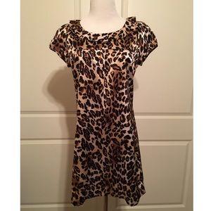 Forever 21 Leopard Shift Dress