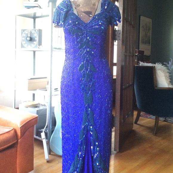 Dresses | Vintage Indian Ball Gown Pure Silk Sz Sm | Poshmark