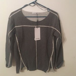 Lacoste grey sweater