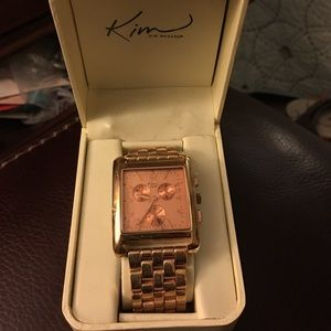Kim Rogers Accessories - New Kim Rogers watch in rose gold new in box