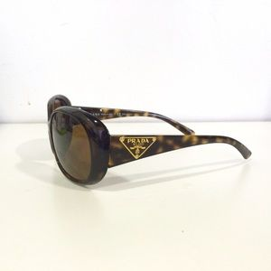 Prada Polarized Sunglasses with Case