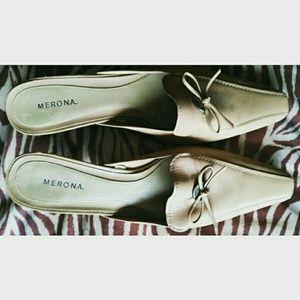 Merona Shoes - 🎉🎇Merona Trendy Mules/Kitten Heels, EUC