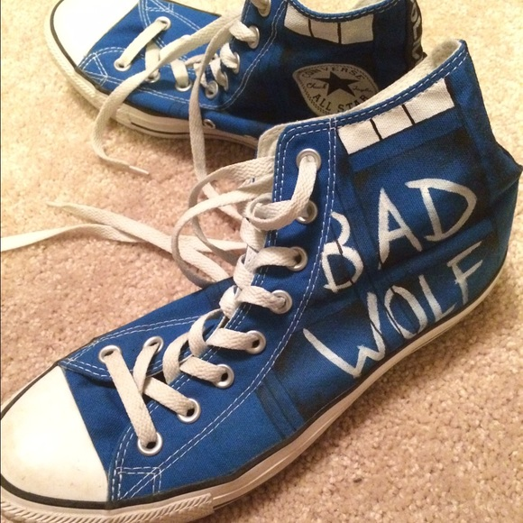 35c1cedbe6f6 Converse Shoes - Doctor Who custom converse