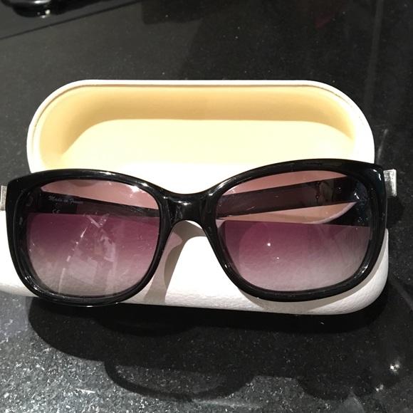 03d230089f7 Chloe Accessories - Classic Black Cat Eye Chloe Sunglasses