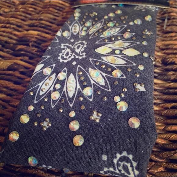 NWT Hair Glove bandana with rhinestones! 5619f5d9d4b