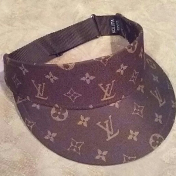 bed189f9bb6 Louis Vuitton Accessories - Vintage sun visor   sun hat   tennis visor