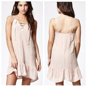 Kendall & Kylie Dresses & Skirts - Kendall & Kylie Strappy Lace-Up Slip Dress