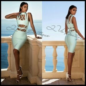 Que Dresses & Skirts - Celebrity Bandage Bodycon Dress