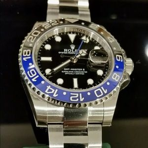 Rolex Accessories - ROLEX GMT MASTER II 116710 BLNR CERAMIC BEZEL SS