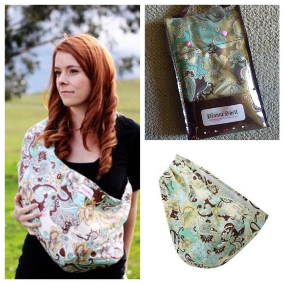 The Peanut Shell Other Baby Sling Size M Poshmark
