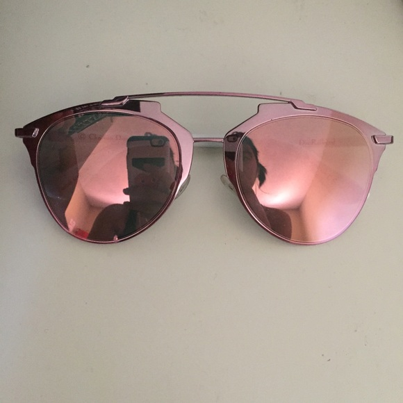 6f44ac76d1e9 Dior Reflected Sunglasses Pink