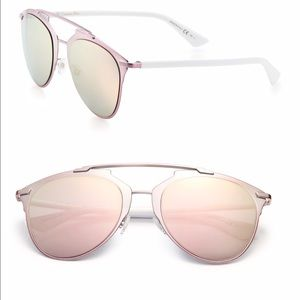 64deba8a9774 Dior Reflected Sunglasses Pink And White