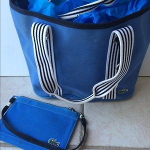 e57e7c85374 How to know if lacoste bag is authentic