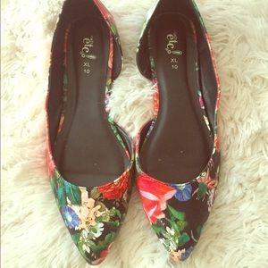 Rue21 Shoes - Floral Flats