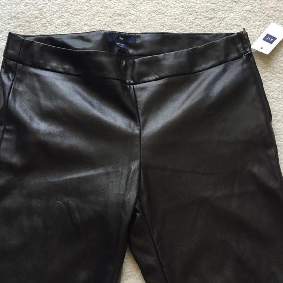 1b76208de2e53b GAP faux leather leggings. NWT. GAP. M_574ef40ed14d7bb4a000279f.  M_574ef40fea3f36246800276f. M_574ef4102599fed1bf002750.  M_574ef411b4188e335f0172aa