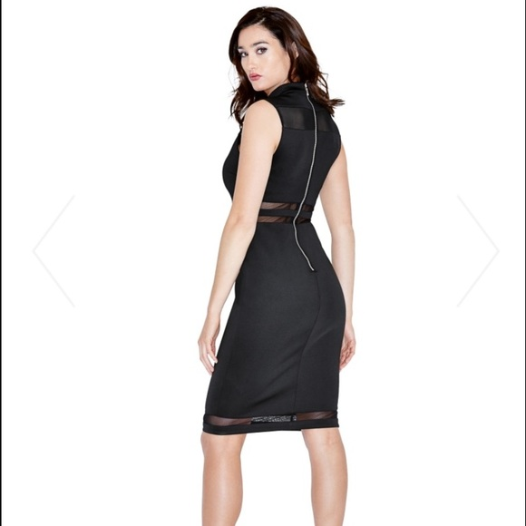 meet 96533 1f5f8 Marciano (guess) black dress