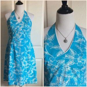 J. McLaughlin Dresses | Turquoise White Cotton