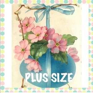 Plus sizes-entire closet & 10% disc off of 2 items