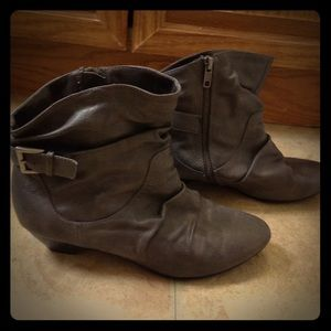 lei Shoes - Grey L.E.I. Booties