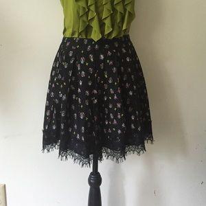 Olsenboye Dresses & Skirts - 💋HOST PICK! Olsenboye skirt; black lace hem; Sz 3