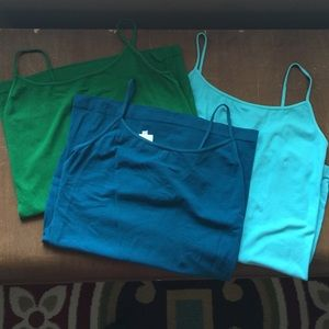 Lot of 3 yahada Cami tank tops. One size fits all