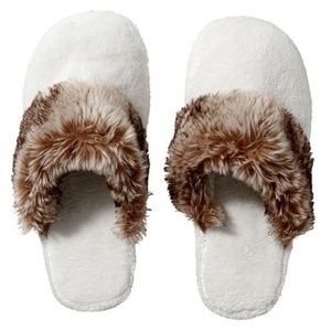 Pottery Barn Ombré Cozy Slippers, Small, NWT