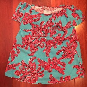 Lilly Pulitzer blouse .. Size large