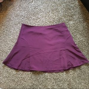 The Limited maroon skater skirt