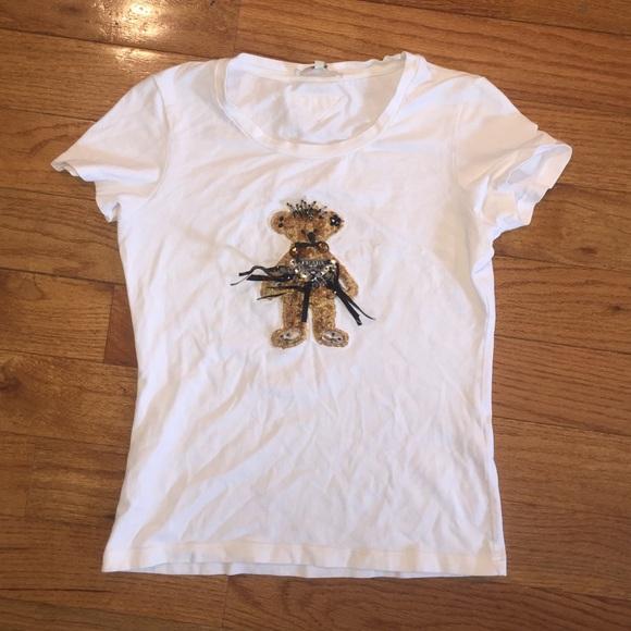 863ca7d17 Prada Tops | Bear T Shirt Authentic Xl Runs Small Guc | Poshmark