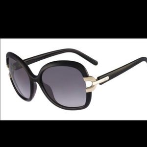 Chloe Sunnies NEW! Black with gold.