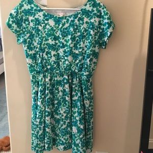 Spotted Gap dress