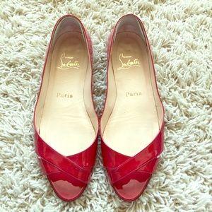 Christian Louboutin Shoes - ⚡️FINAL SALE⚡️💯 Auth Louboutin patent flats