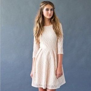 Ivory Lace Dress by Fleet Collection for ModCloth