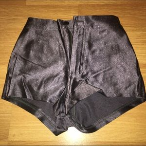 Gray High waisted shorts 