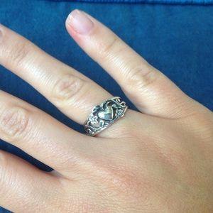 james avery jewelry james avery romantic heart ring - James Avery Wedding Rings
