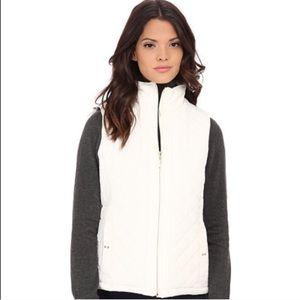 Weatherproof Jackets & Blazers - Amazing faux fur REVERSIBLE quilted vest
