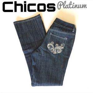   FLASH SALE❤️ Chico's Platinum Jeans