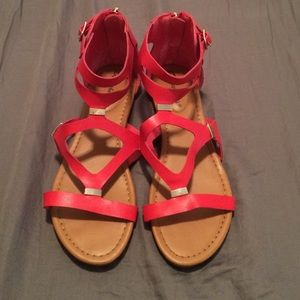 Breckelles Shoes - *PRICE DROP* Cherry red sandals.