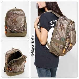 Urban Outfitters Fieldline Camouflage Backpack