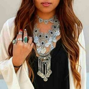 Jewelry - ❤SALE❤Gypsy Ethnic Tribal Turkish Boho  Long Chain