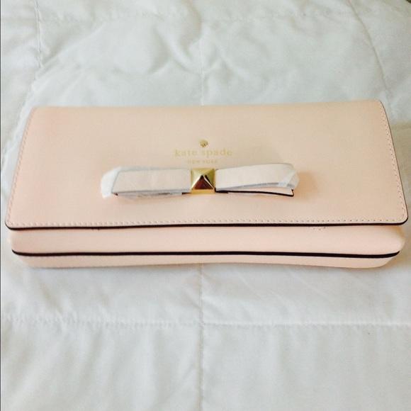 5fec69e67eb20 kate spade Bags | Sale Today Nwt Ks Keira Leather Clutch | Poshmark
